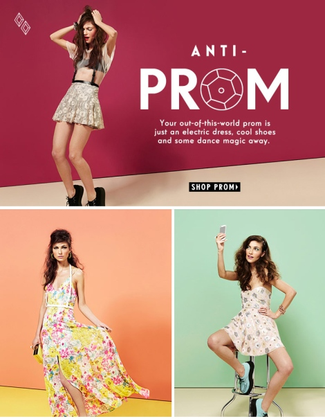 Nastygal Prom promo